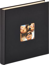 Walther Fun - Fotoalbum - Zelfklevend - 33 x 34 cm - 50 pagina's - Zwart