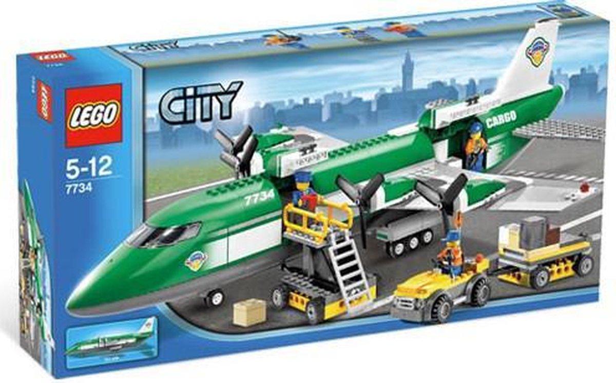 LEGO City Vrachtvliegtuig - 7734