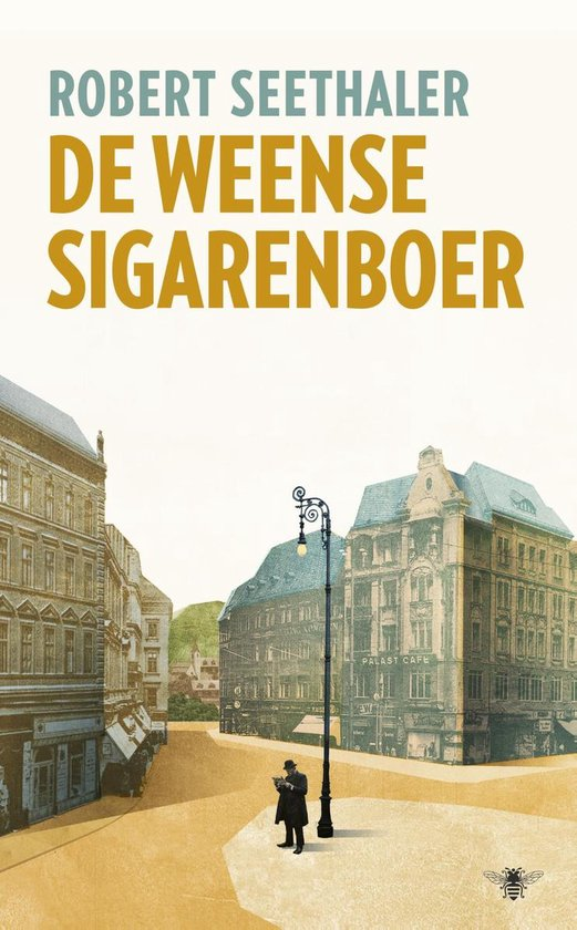 Boek cover De Weense sigarenboer van Robert Seethaler (Onbekend)