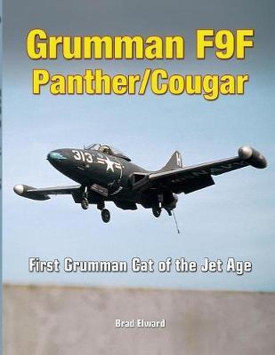 Boek cover Grumman F9F Panther/Cougar van Brad Elward (Paperback)