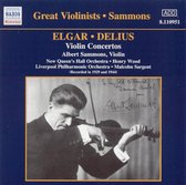 Sammons:Elgar.Delius-Violin Co