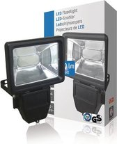 LED Floodlight 10 W 600 lm Black