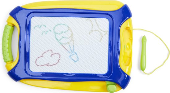 Kids Art Magnetisch Kleuren Tekenbord 26x18 Cm