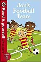 Jon's Football Team - Read it yourself with Ladybird