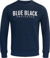 Blue Black Amsterdam Jongens Trui Milan 2.0 - Donkerblauw  - Maat 140