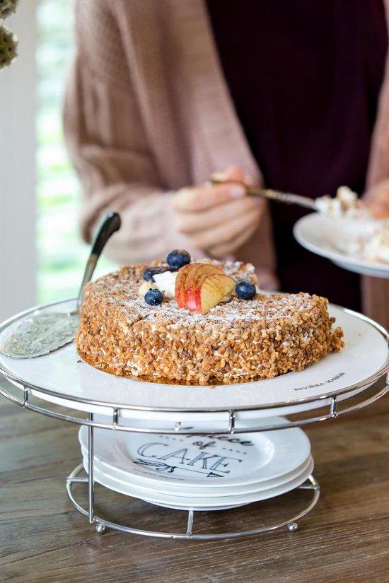 Rivièra Maison Celebrations - Cake Set - Wit - Riviera Maison