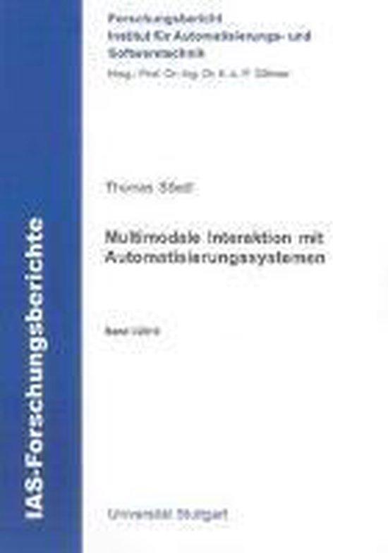 Multimodale Interaktion mit Automatisierungssystemen