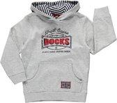 Blue Seven Jongens Sweater Hooded Grijs - Maat 98