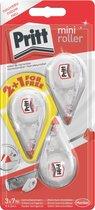 Pritt Correctieroller Mini 2+1 gratis - 12.6 mm - Correctie roller