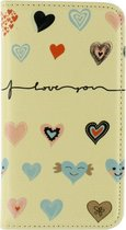 Mobilize Magnet Book Card Stand Case Samsung Galaxy Ace 4 SM-G357 I Love You