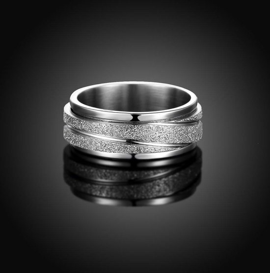 Draaibare Ring - Stslen Ring - Spinning Ring - 18.5mm