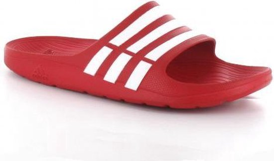 bol.com | adidas G15886 - Slippers - Heren - Maat 46 - Rood