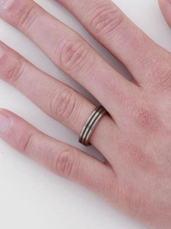 Boccia Titanium 0101-17 Ring - Titanium - Bicolor - Boccia Titanium