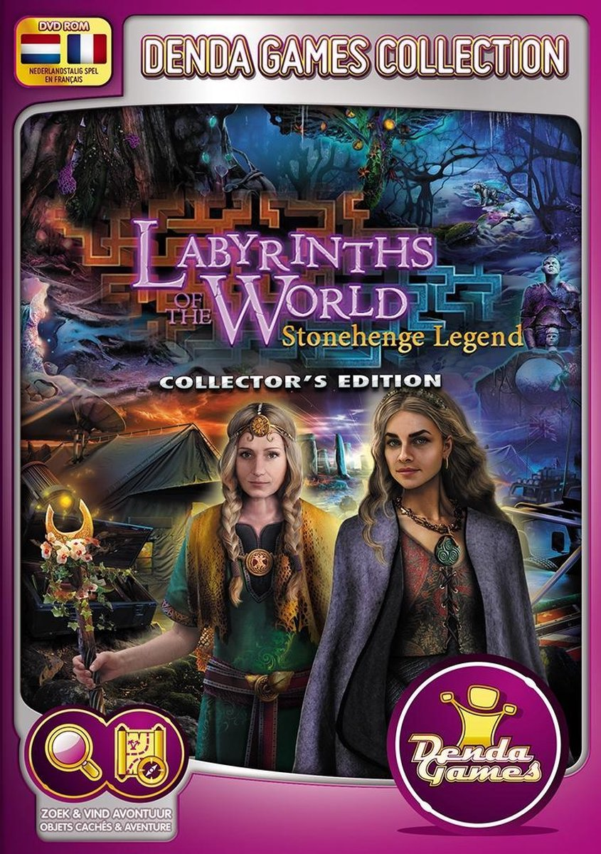 Labyrinths of the World: Stonehenge Legend (Collector's Edition) (PC) - Denda Games