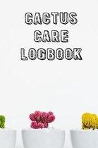 Cactus Care Logbook