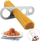 Spaghettimaat - RVS - Pasta afmeten - Spaghetti meter - Spaghettimaatje - Spaghettiverdeler - Universeel