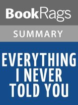 Boek cover Everything I Never Told You by Celeste Ng l Summary & Study Guide van Bookrags