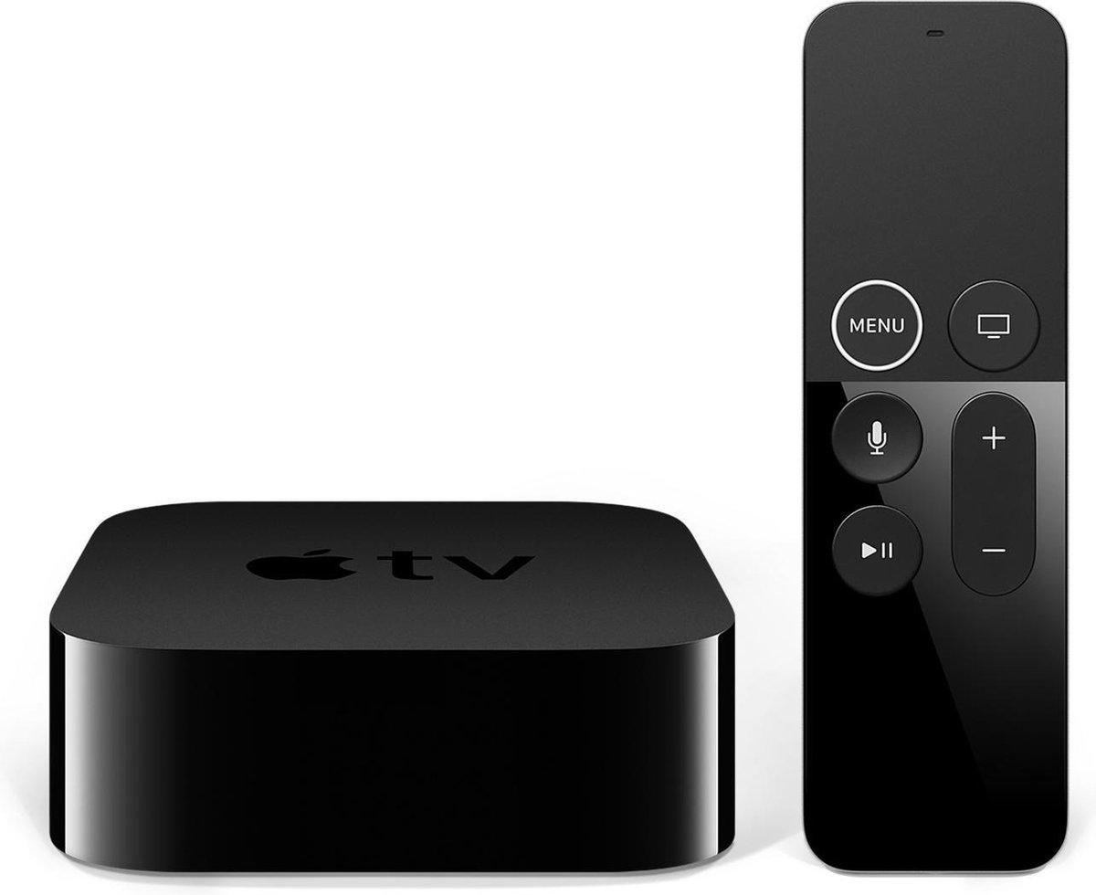 Apple TV – 4K – 64 GB – Wi-Fi Ethernet LAN – Zwart 4K Ultra HD