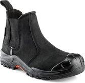 Buckler Boots NKZ101BK Nubuckz S3 Instapper Zwart maat 45