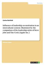 Influence of leadership on motivation in an intercultural context. Illustrated by the comparison of the leadership styles of Steve Jobs and Tim Cook (Apple Inc.)