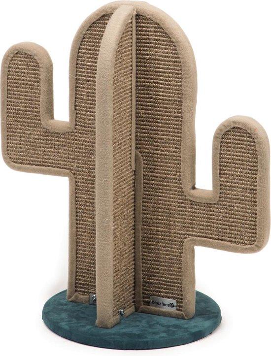Beeztees Catilja Cactus - Krabpaal - Bruin - 35 x 62 cm
