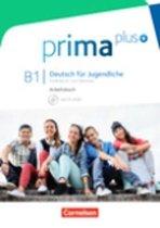 prima plus B1: Gesamtband - Arbeitsbuch mit CD-ROM