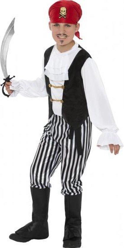 Piraten kostuum voor kinderen 130-143 (7-9 jaar)