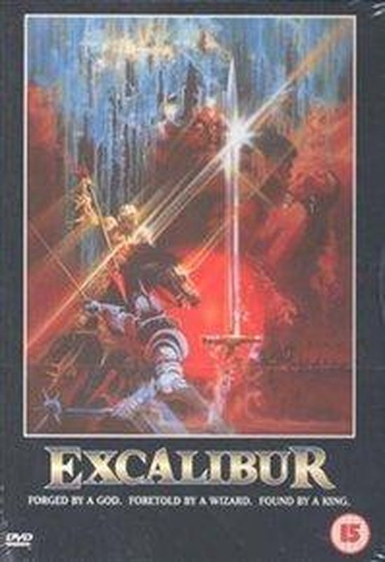 Cover van de film 'Excalibur'