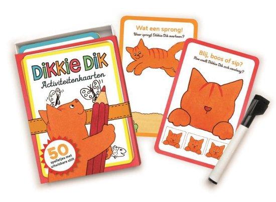 Afbeelding van Dikkie Dik  -   Activiteitenkaarten speelgoed