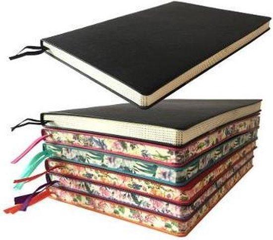 Black Artisan Notebook (Flame Tree Journals)