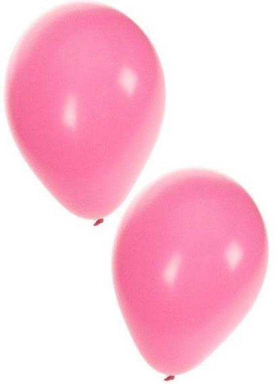 helium ballonnen roze 100 stuks