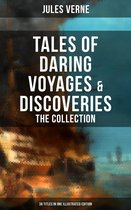 Boekomslag van 'Tales of Daring Voyages & Discoveries: The Jules Verne's Collection (38 Titles in One Illustrated Edition)'