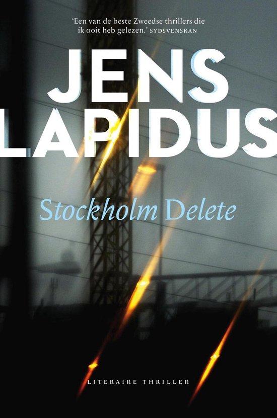 Boek cover Stockholm delete van Jens Lapidus (Onbekend)