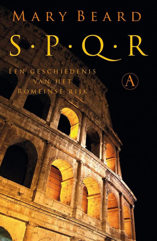 Boek cover SPQR van Mary Beard