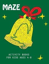 Maze Activity Books for Kids Ages 4-8