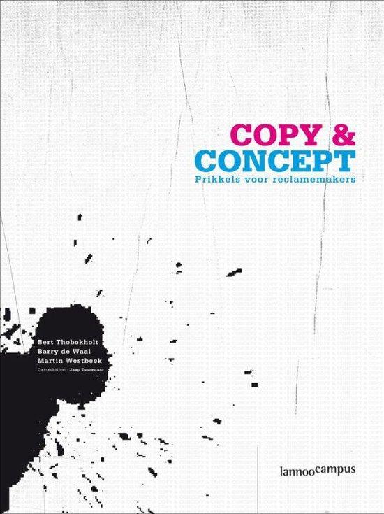 Cover van het boek 'Concept & copy'