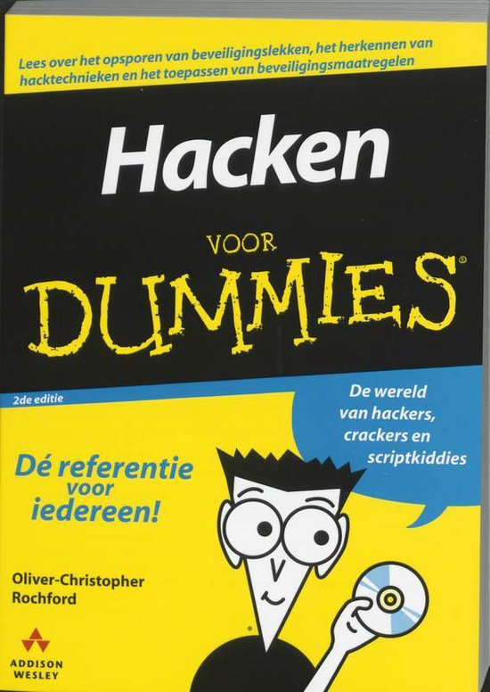 Cover van het boek 'Hacken voor dummies'