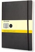 Moleskine classic notitieboek zwart - XL - Soft cover  - Geruit