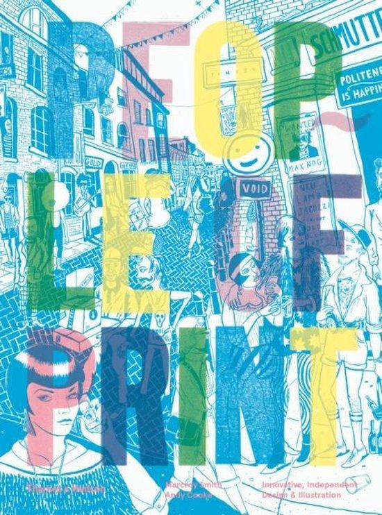 Boek cover People of Print van Marcroy Smith (Paperback)