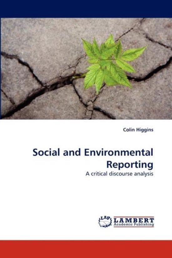 Social and Environmental Reporting