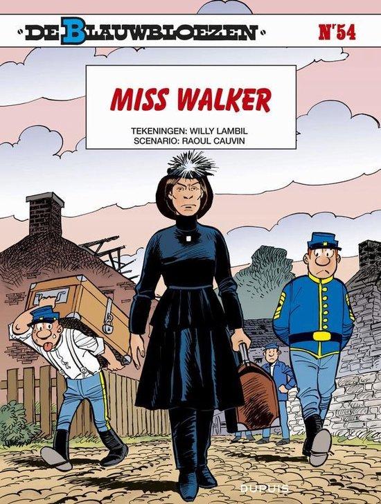 Blauwbloezen 54. miss walker - Willy Lambil |
