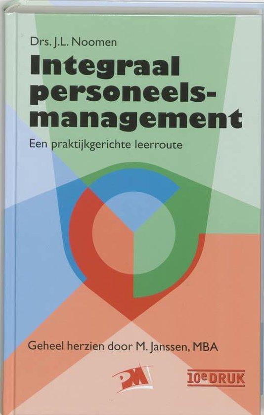 Integraal personeelsmanagement - J.L. Noomen |