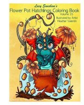 Lacy Sunshine's Flower Pot Hatchlings Coloring Book