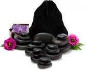 Hot Stone Massage Set - Basalt Hotstone / Hete Massage Stenen - Chakra  Massage Stones - Massageset 20-Delig