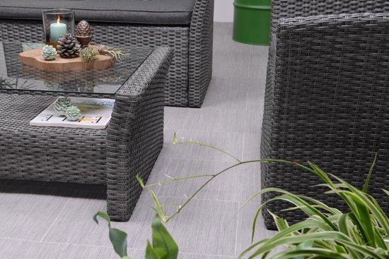 Garden Impressions loungeset - Tahiti - 4-delig - earl grey - Garden Impressions