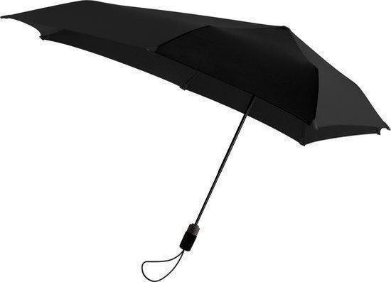 Senz Original Mini A/O - Stormparaplu - Pure Black