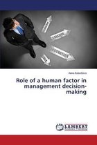Role of a Human Factor in Management Decision-Making