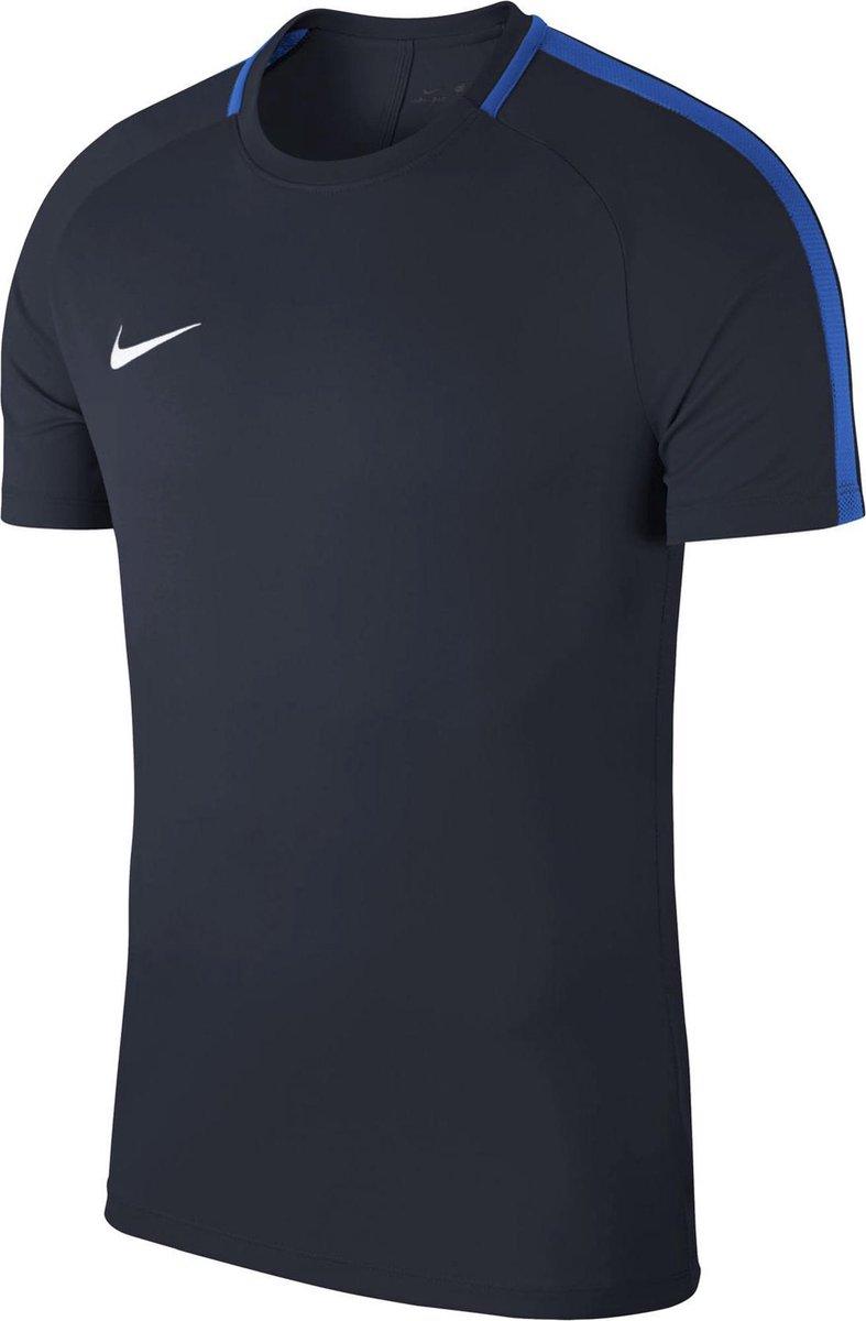 Nike Dry Academy 18 Sportshirt Heren - blauw