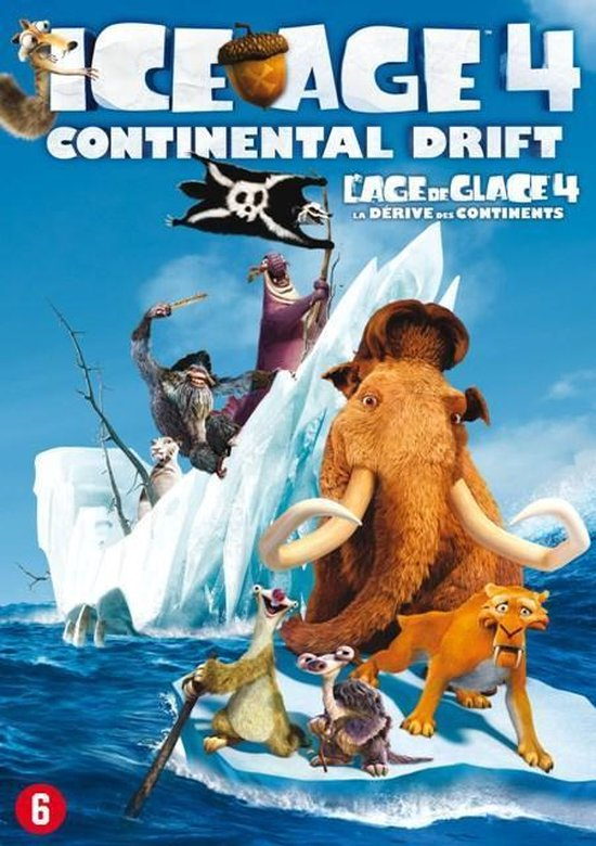 Cover van de film 'Ice Age 4: Continental Drift'