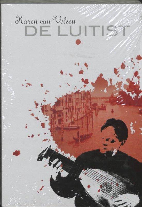 Cover van het boek 'De luitist' van K. van Velsen